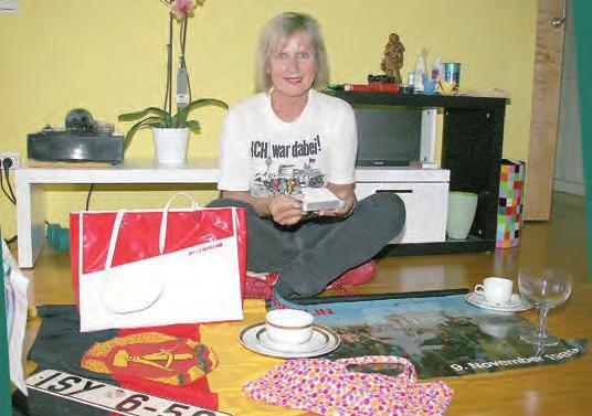 Gabriele Hartmann zeigt ihre Teile